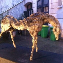 Lionel Sabatté, Licorne, Confidentielle #2 YIA Art Fair Paris 2015