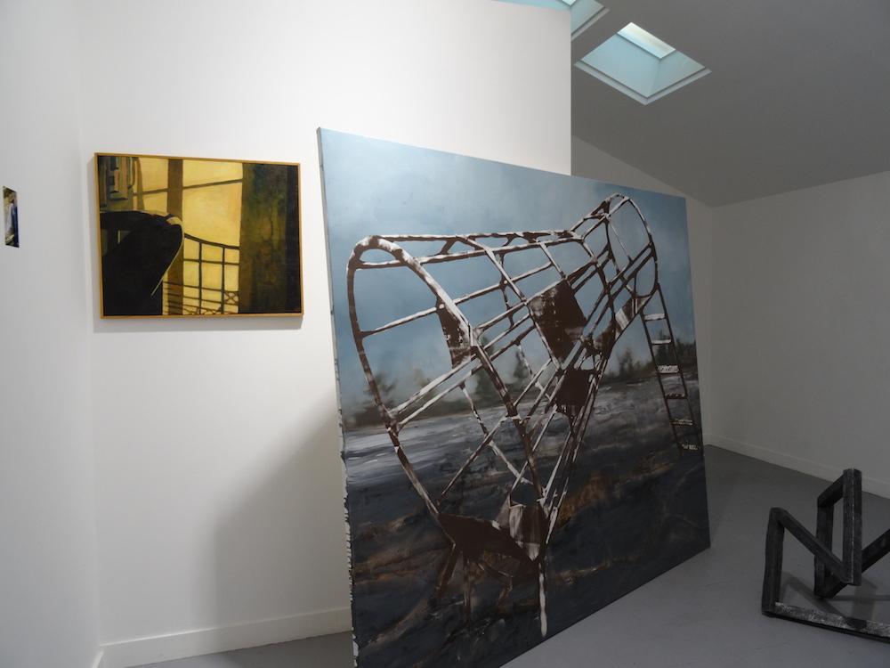 Eva Nielsen, exposition Présente, Foxer, 2015