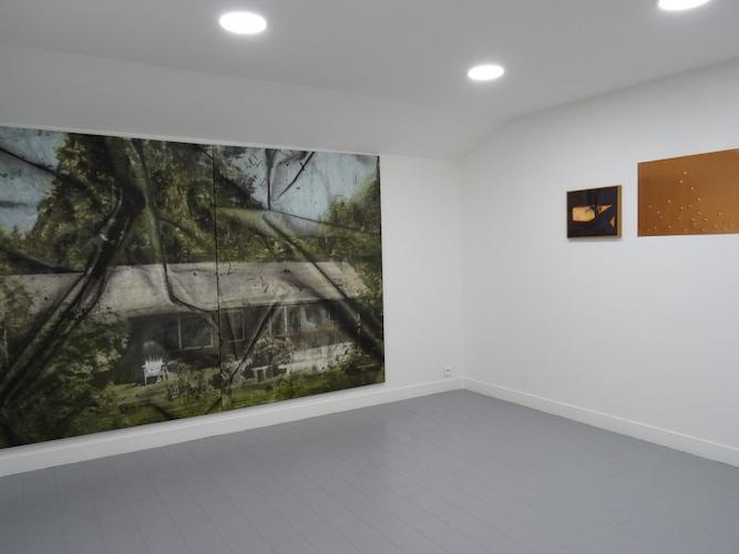 Eva Nielsen, exposition Présente, Lucite, 2015