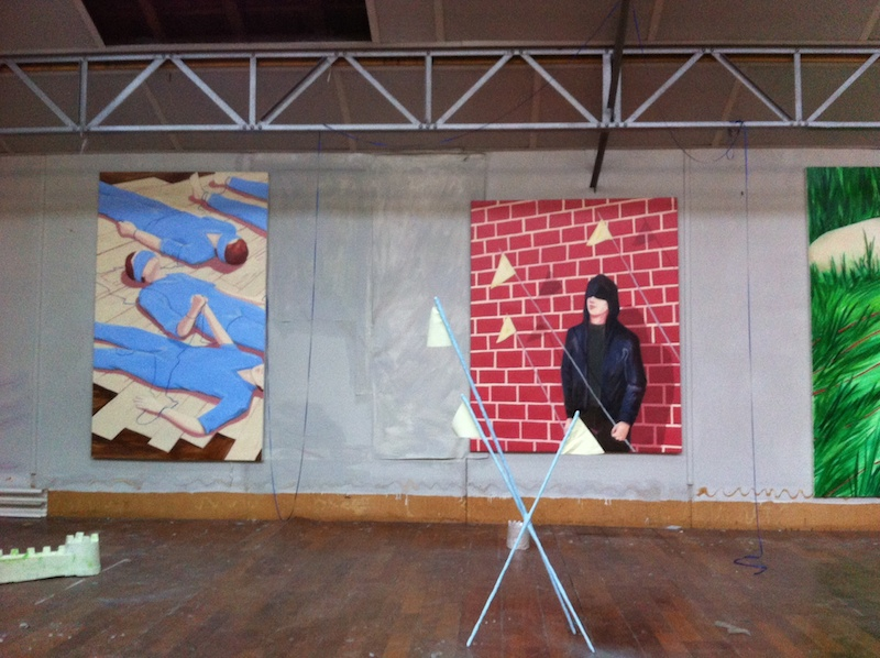 État des lieux, atelier Lise Stoufflet