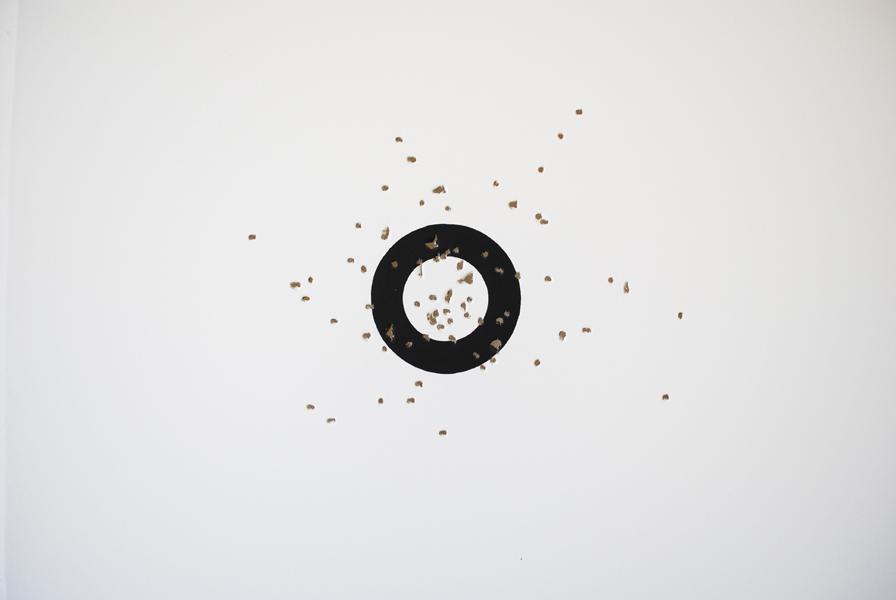 Jerome Cavaliere, Entretien avec une oeuvre d'art, Essai#02, 50 mètres