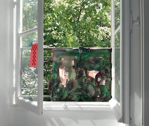 Outrage, deuxième coup du cycle par Joël Riff, Atelier G8, Cité Internationale des Arts de Montmartre