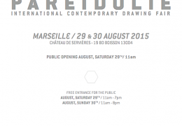[PARTENARIAT] PARÉIDOLIE, Salon international du dessin contemporain, Marseille 2015