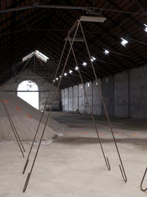 Romain Vicari, Installation Equilibro, 2011