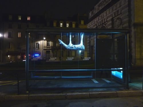 Gilbert Coqalane, Bestialu, Installation urbaine