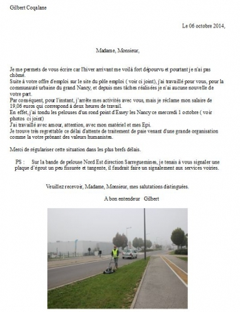 Gilbert Coqalane, Ressources Humaines