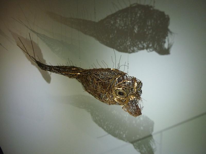 Lionel Sabatté, Fabrique des profondeurs, Aquarium de Paris, 2014
