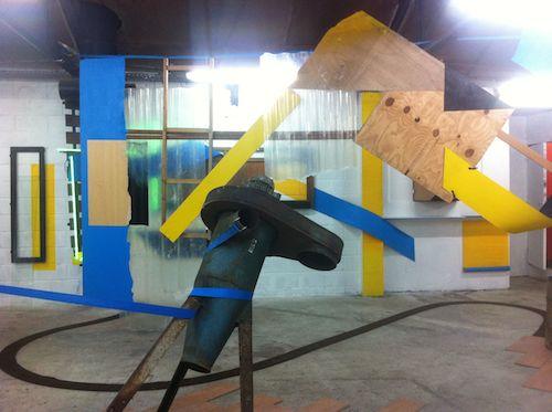 Nelson Pernisco, Installation, exposition Ponctuation à L'Amour, Bagnolet