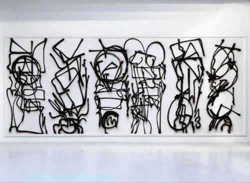 Pablo Tomek, exposition Etat des lieux, Agnèsb