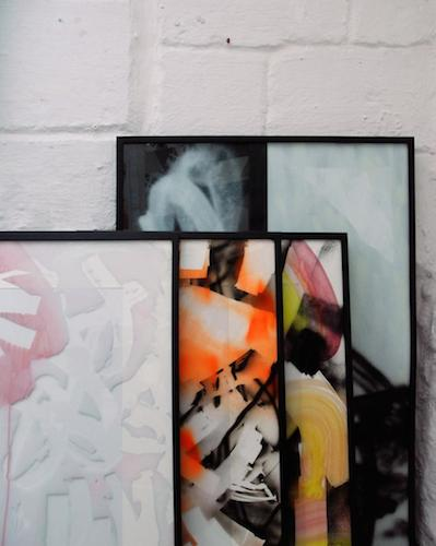 Pablo Tomek, peintures sur verre