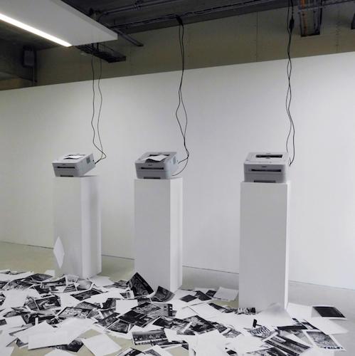 Pablo Tomek, installation FRAC Dunkerque, 2014