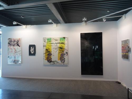 Andrés Ramirez présenté par galerie Escougnou-Cetraro, Docks Art Fair 2015