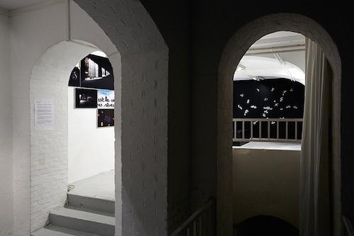 Fantin Leroux, exposition État des lieux, galerie du jour Agnès b., 2013