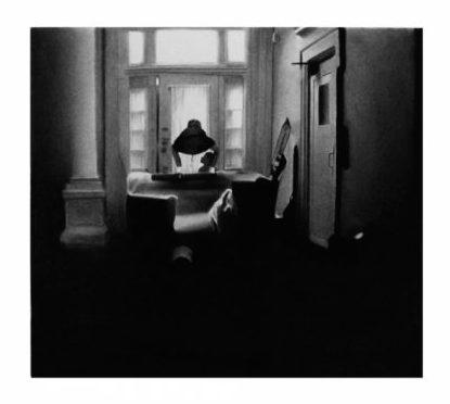 Raphaël Tachdjian, Quand elle fait sa profonde, dessin pierre noire et graphite sur papier, 2015 Courtesy School Gallery Paris