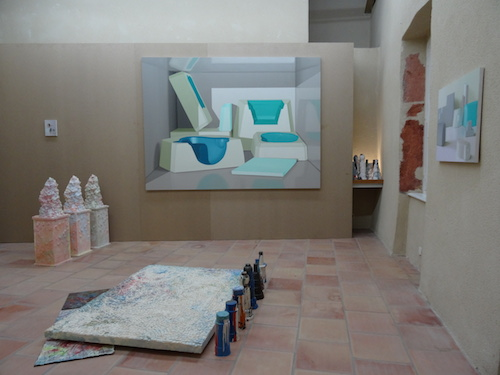 Maude Maris, Samara Scott et Octave Rimbert-Rivière, exposition Raffineries, Moly-Sabata 2015
