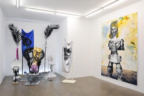 Raphaël Barontini, Solar Drums, Galerie Alain Gutharc Paris