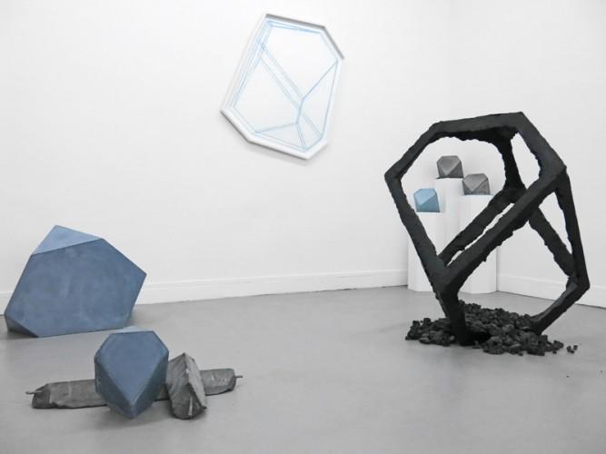 """Raphaël Denis, Éléments pour un Ensemble – 2013, exposition """"Oeuvres d'Anderlecht"""", Galerie Sator Paris 2013"""