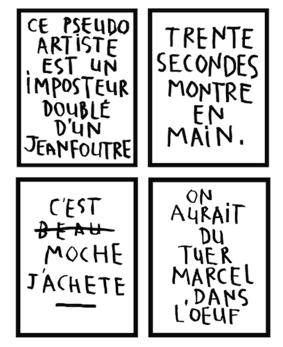 Raphaël Denis, Listes & Commentaires, 2010-2013