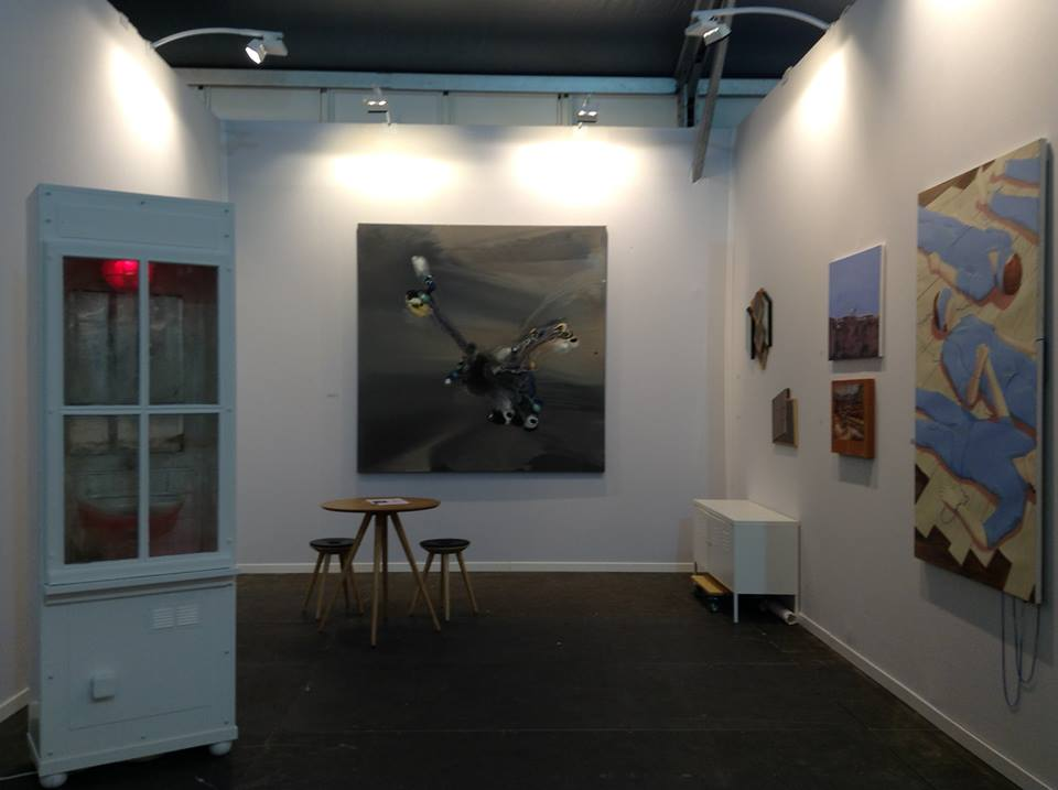 Under Construction Gallery à Slick Art Fair 2015