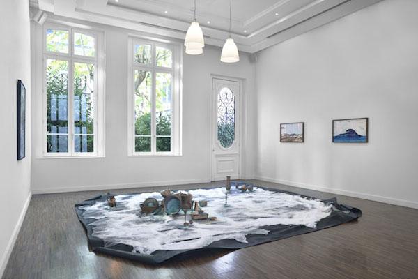Bianca Bondi, Vue de l'exposition Empiristes, Bourse Révélations Emerige 2015 Commissaire : Gaël Charbau © Rebecca Fanuele