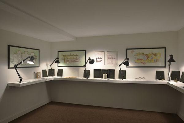Lucie Picandet, Vue de l'exposition Empiristes, Bourse Révélations Emerige 2015 Commissaire : Gaël Charbau © Rebecca Fanuele