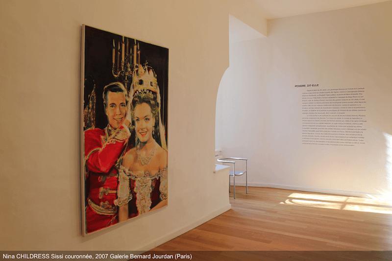 Peindre, dit-elle, Musée départemental d'art contemporain de Rochechouart