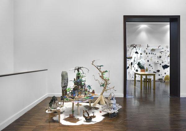 Samuel Trinquier, Vue de l'exposition Empiristes, Bourse Révélations Emerige 2015 Commissaire : Gaël Charbau © Rebecca Fanuele
