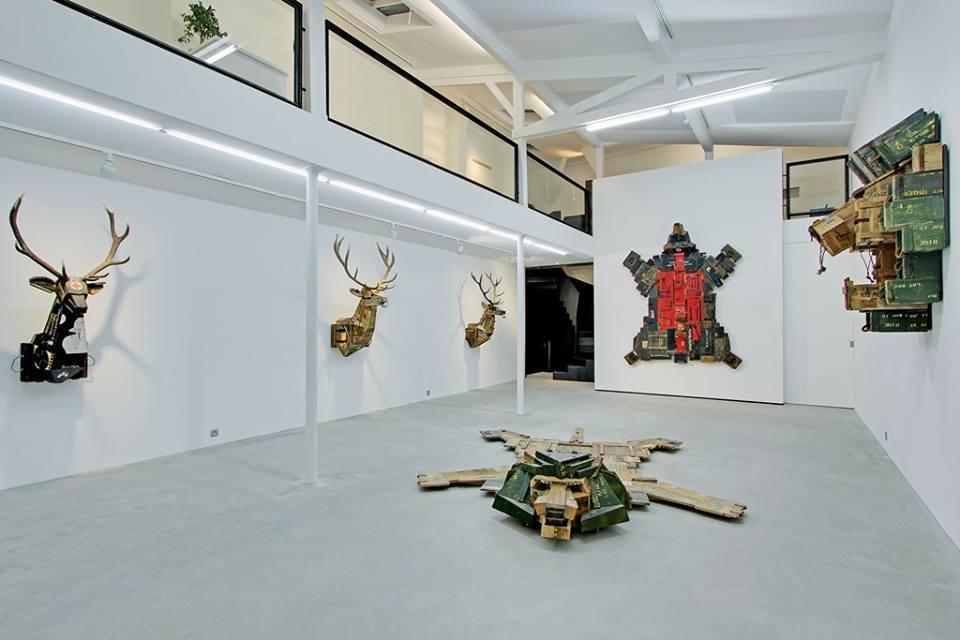 Dimitri Tsykalov, Skin, Galerie Rabouan Moussion