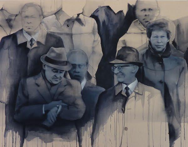Giulia Andreani, Les histoires d'amour finissent mal en général, 2011, acrylique sur toile, 146 x 114 cm , Courtesy artiste
