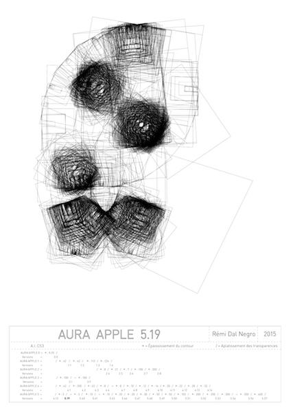 """Rémi Dal Negro, Aura """"Apple 5.19"""""""