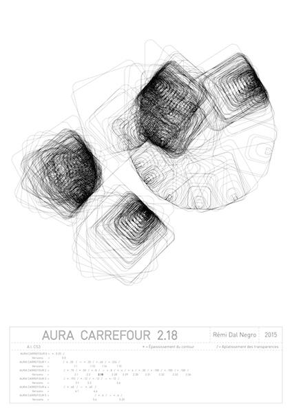 "Rémi Dal Negro, Aura ""Carrefour 2.2"""