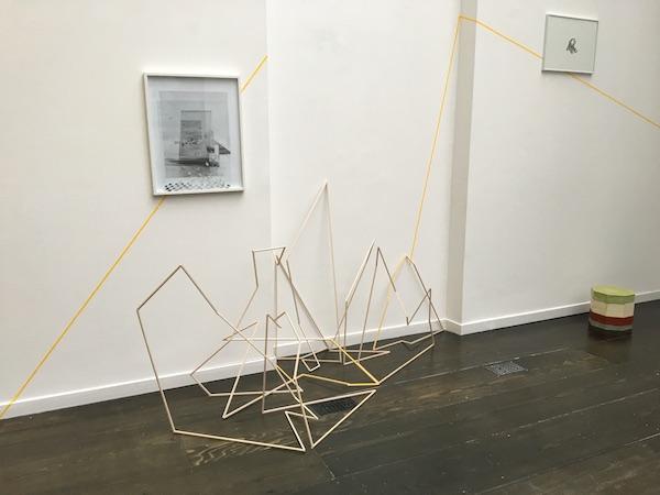 Exposition collective Et quelque(s) espacement(s), galerie melanie Rio Paris