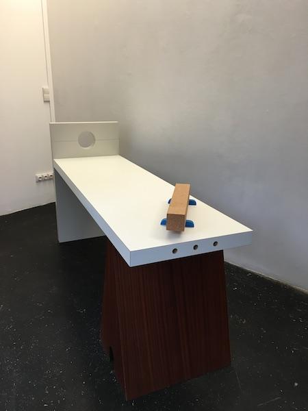 Louis Gary, Traînée, 2015, exposition Polder II, Glassbox Paris