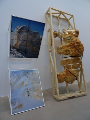 Joris Henne, Cima grande, exposition annuelle Jeune Création 66ème édition Galerie Thadeus Ropac Pantin