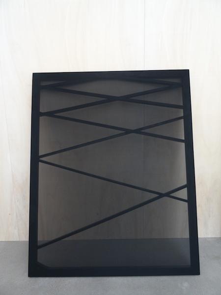 Quentin Lefranc, Fragments (Triptyque), exposition annuelle Jeune Création, Galerie Thaddeus Ropac Pantin