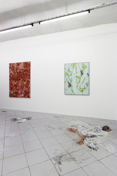 Steven Cox – Bas van den Hurk, A moveable Feast, Galerie Jérôme Pauchant Paris