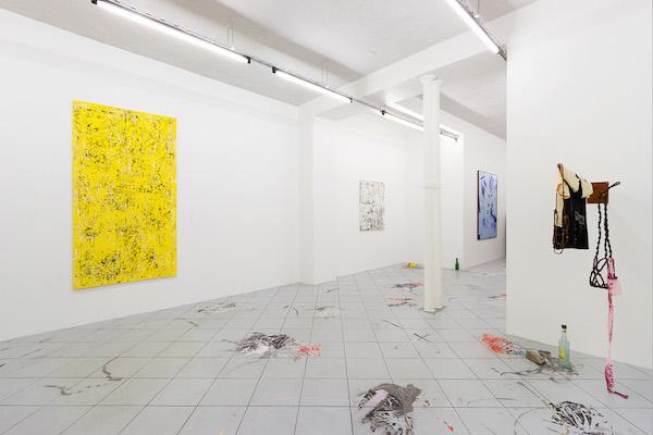 Steven Cox – Bas van den Hurk Vue de l'exposition A moveable Feast, Galerie Jérôme Pauchant Paris
