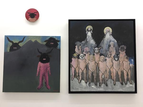 Mohamed Ben Slama, Vue d'exposition Dogs from Hell Galerie Patricia Dorfmann