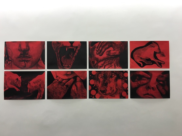 Myriam Méchita, Tu vas comprendre Exposition Dogs from Hell, Galerie Patricia Dorfmann