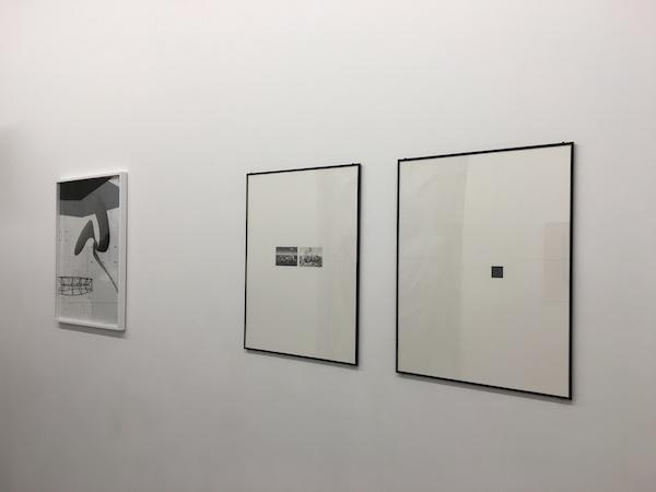 Félix Pinquier et Daniel Otero Torres, vue d'exposition #2. Long distance communication, galerie Marine Veilleux