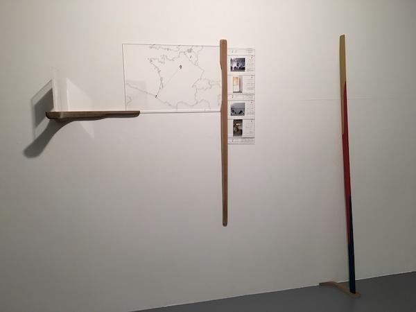 François Maurin Passager 1aa2b7 vue d'exposition #2. Long distance communication, galerie Marine Veilleux