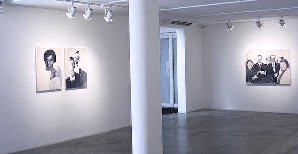 Giulia Andreani, vue d'exposition Sobre as Águas, galerie Luciana Caravello, Rio de Janeiro