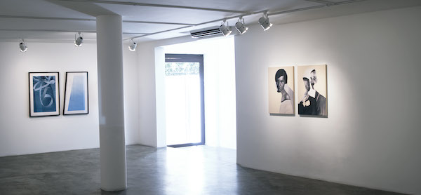 Giulia Andreani, vue d'exposition Sobre as Águas galerie Luciana Caravello, Rio de Janeiro