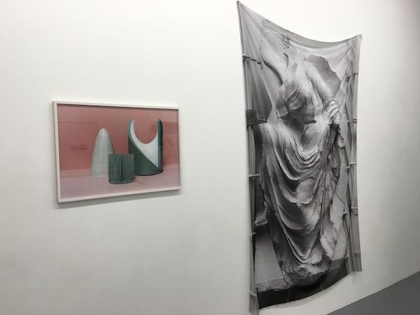 Lena Amuat & Zoë Meyer, vue d'exposition #2. Long distance communication, galerie Marine Veilleux