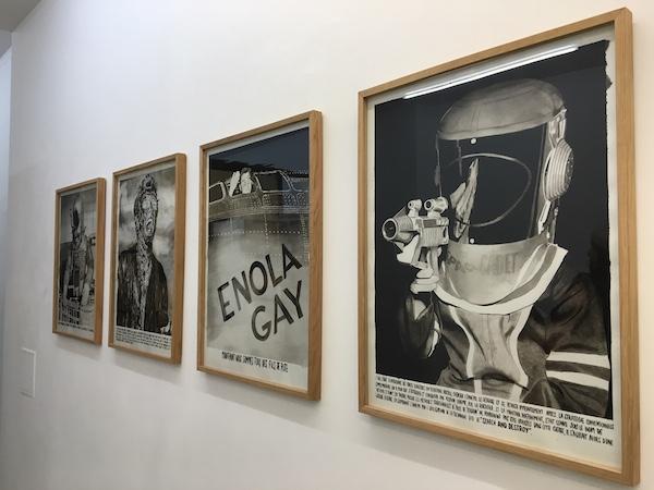 Léo Dorfner, exposition personnelle Chercher/Détruire, galerie ALB Paris