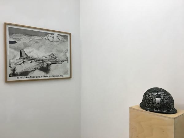 Léo Dorfner, vue de l'exposition personnelle Chercher/Détruire, galerie ALB Paris