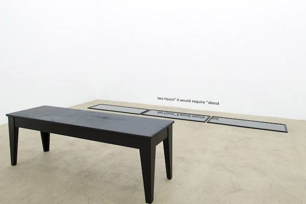 Muriel Leray, vue d'exposition Obscène, galerie Escougnou-Cetraro