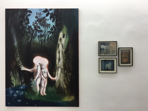 Vanessa Fanuele, Vue d'exposition Dogs from Hell Galerie Patricia Dorfmann