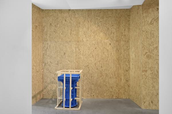 Cyril Zarcone, vue d'exposition Re/ productions, Galerie Eric Mouchet Paris Crédit photo : Rebecca Fanuele