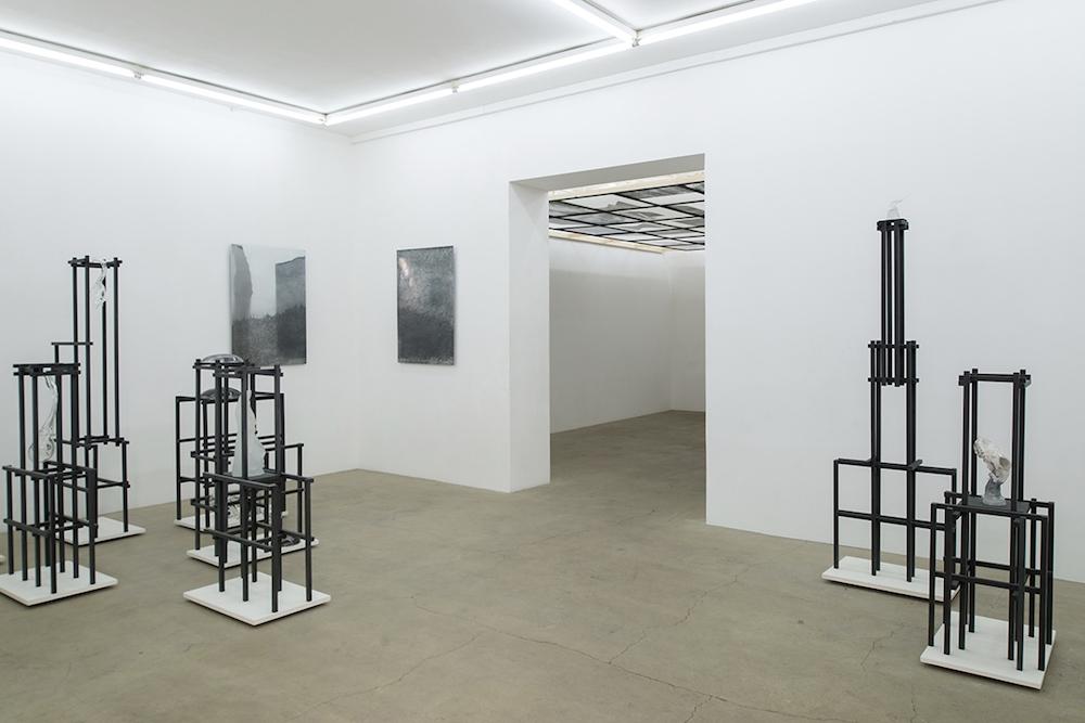 Pia Rondé et Fabien Saleil, La campagne est noire de soleil, Galerie Escougnou-Cetraro